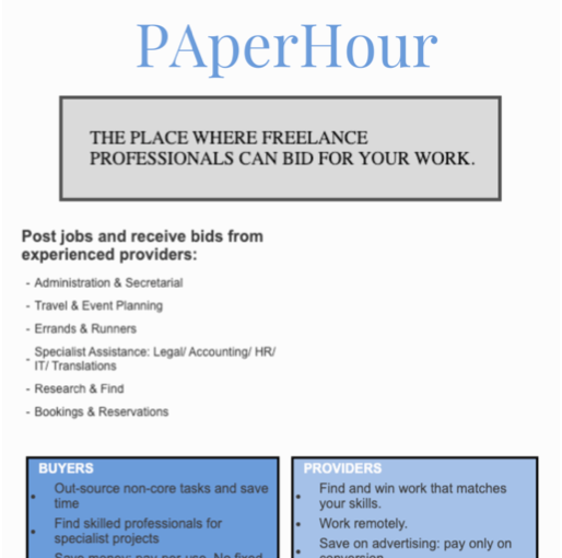 Paper Hour